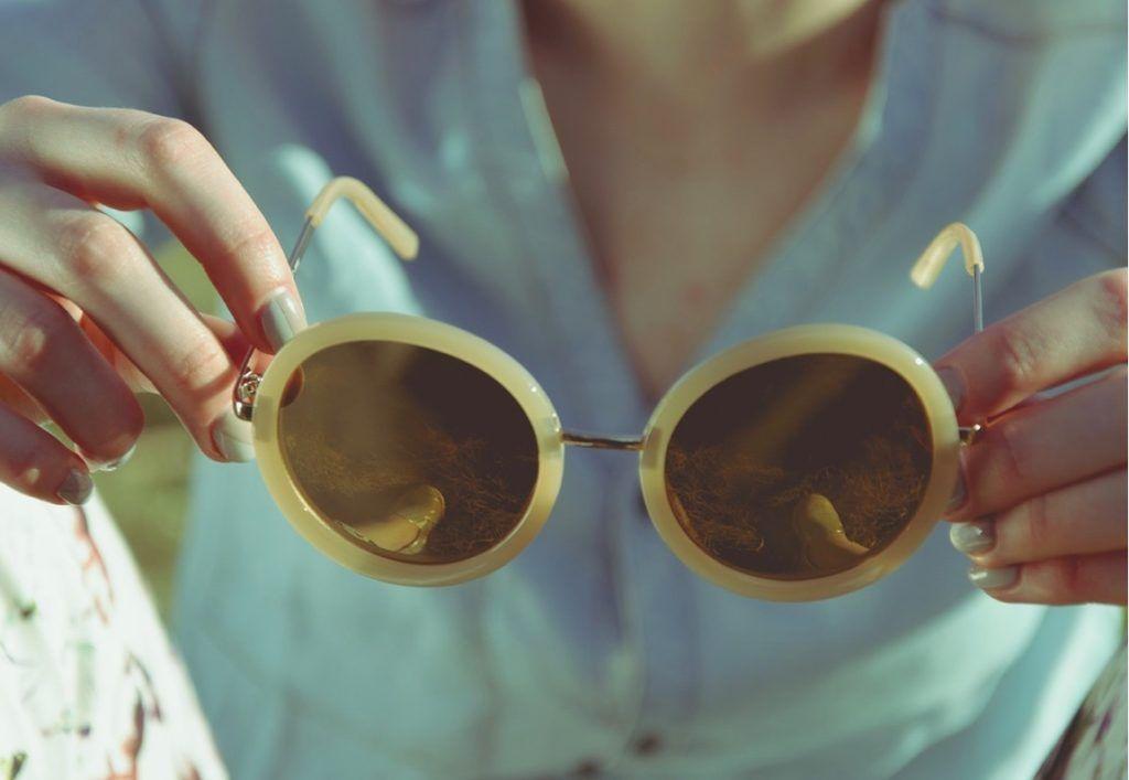 Las gafas de sol mejor en la calles