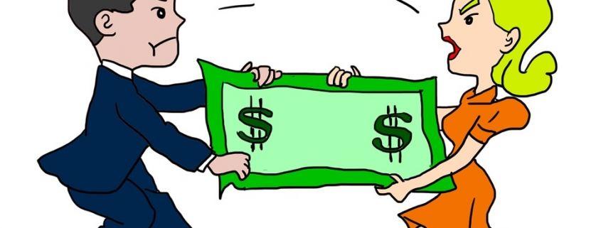 la falta de dinero es una de las causas de divorcio en españa