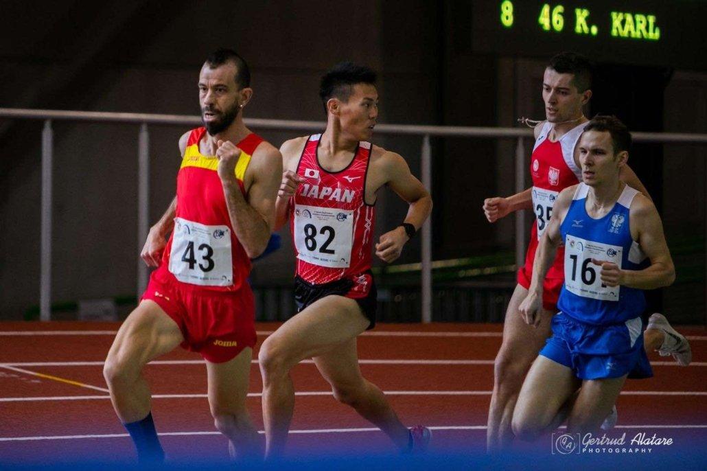 Juan Manuel González Valiente atleta olimpico