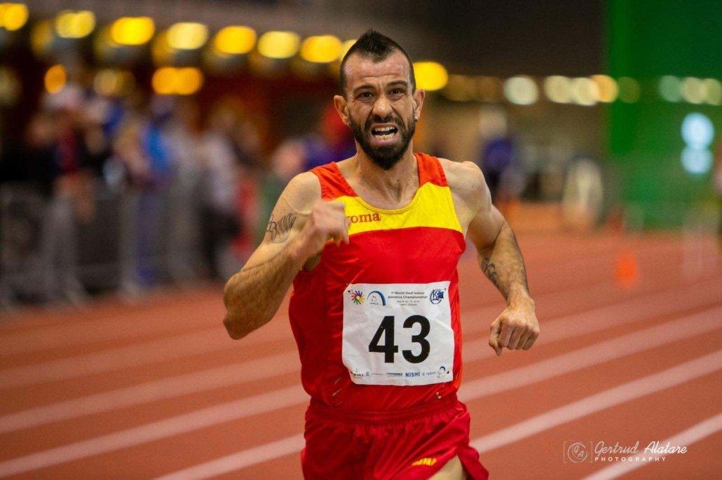 Juan Manuel Gonzalez Valiente el dolor en una carrera es similar al vivido camino del divorico