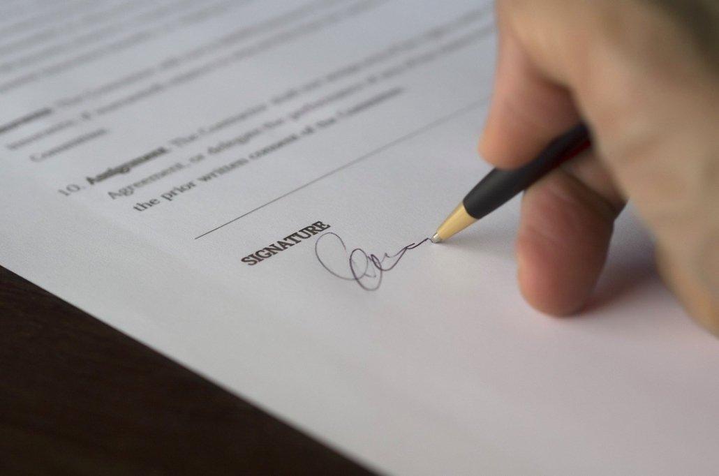 mi ex no quiere firmar el convenio